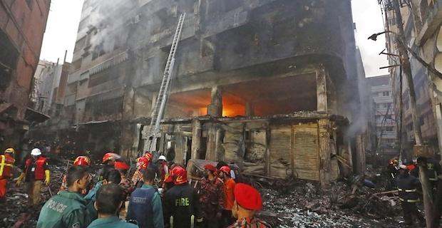 Fire kills at least 70 in Bangladeshi capital
