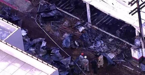 Flamengo football club: Ten die in Rio de Janeiro fire