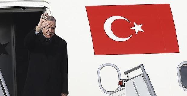 Turkish president sets off for Syria summit in Sochi