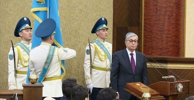 Tokayev sworn in as Kazakhstan's president