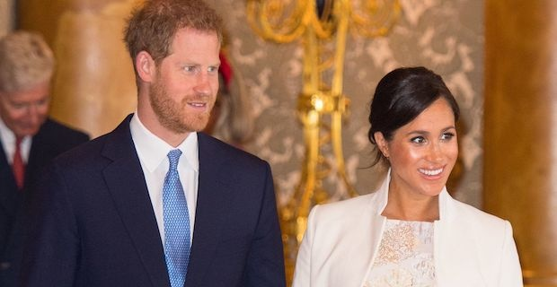 Duke and Duchess of Sussex share first glimpse of son