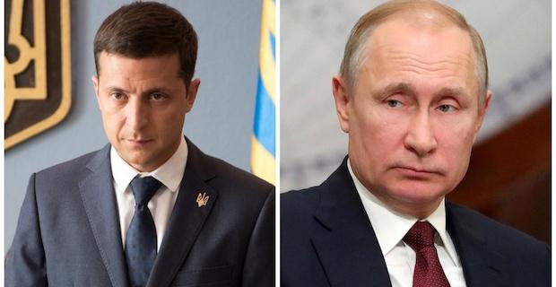 Putin, Ukrainian counterpart hold phone talk