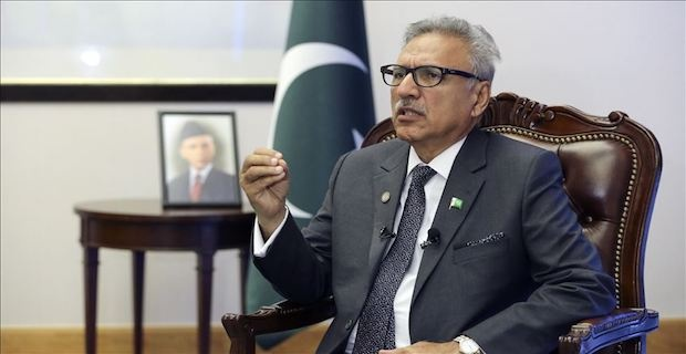 Pakistan President cautions against imposition of war
