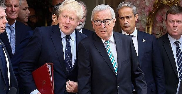 UK premier, EU's Juncker discuss Brexit, next steps