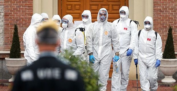 Spain confirms 769 new coronavirus deaths