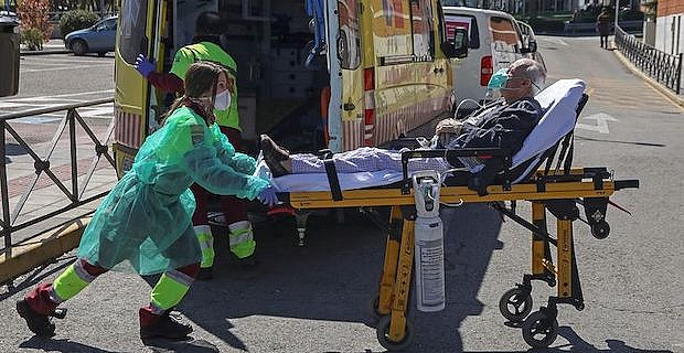 COVID-19: Spain's death toll surges above 8,100