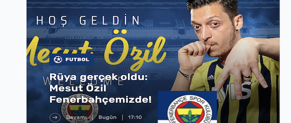Mesut Ozil has joined Turkish Super Lig side Fenerbahce in a permanent transfer, Arsenal says