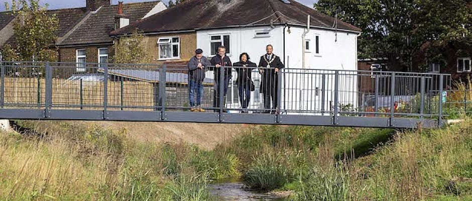 Albany Park is a fantastic example of how we are improving and enhancing our open spaces Cllr Rick Jewell, said