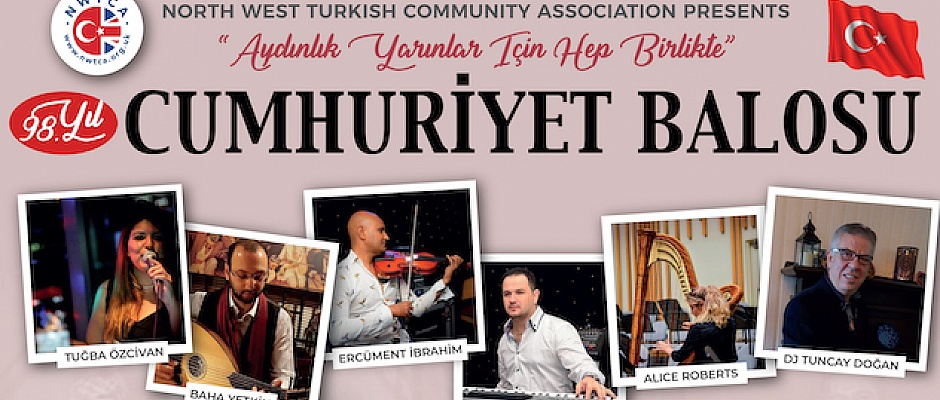 EnglandNorth West Turkish Community Association will celebrate anniversary of Turkish Republic
