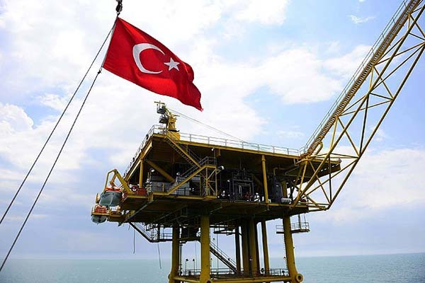 Black Sea provides one fifth of Turkey's gas production