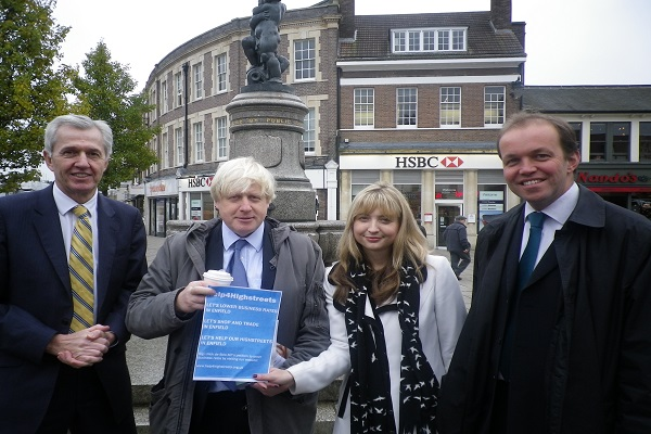 Mayor of London & Enfield North MP call for reduced business rates in Enfield