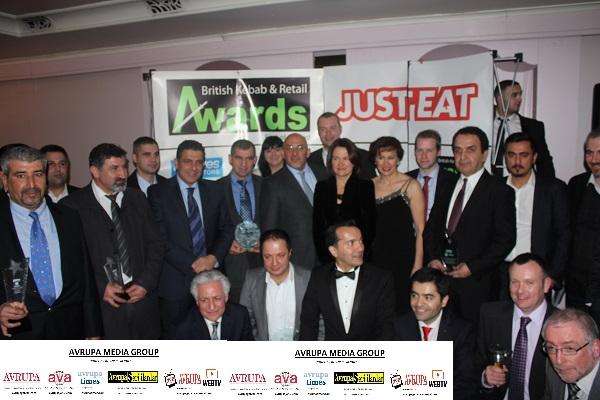 British Kebab Awards 2014 interviews on Avrupa Web TV video