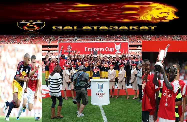 WIN TICKETS TO SEE ARSENAL v GALATASARAY AT EMIRATES CUP 2013