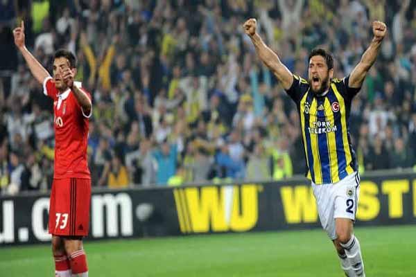 Fenerbahçe edges Benfica 1-0