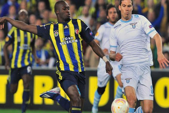 UEFA Europa League Quarter Finals Fenerbahce vs Lazio