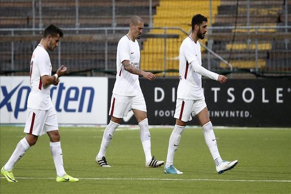 Swedish Ostersunds 2 Turkish Galatasaray 0