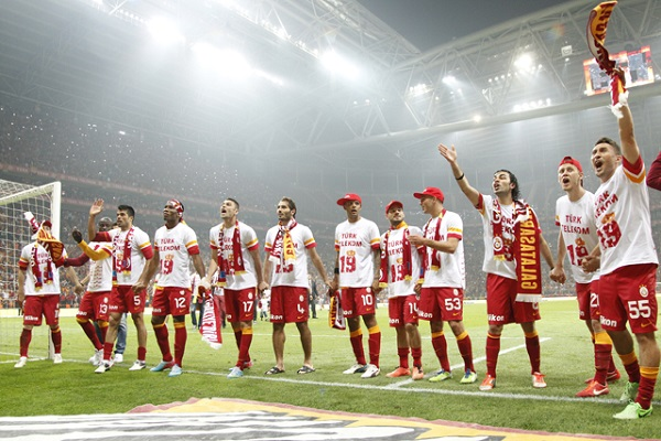 The Turkish Spor Toto Super League Champion is Galatasaray