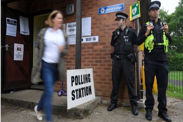 Voters go to the polls in UK