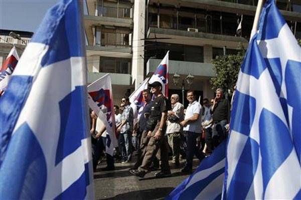 Greek teachers kick off strike