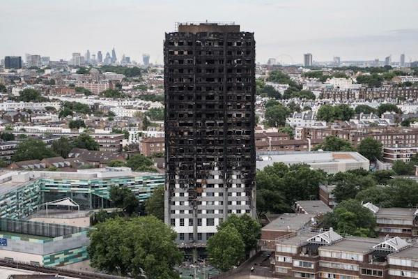 UK government sends in taskforce about Grenfell Tower