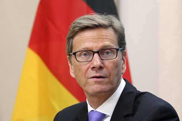 German FM Westerwelle to visit Middle East for peace talks