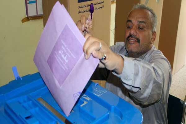 Iraqis have voted in a provincial election
