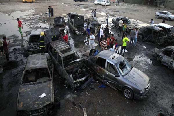 Iraq death toll passes 500