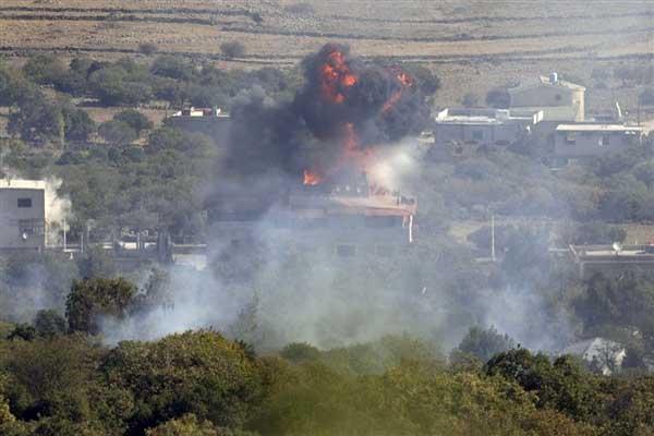 Air strike kills 48 in Syria