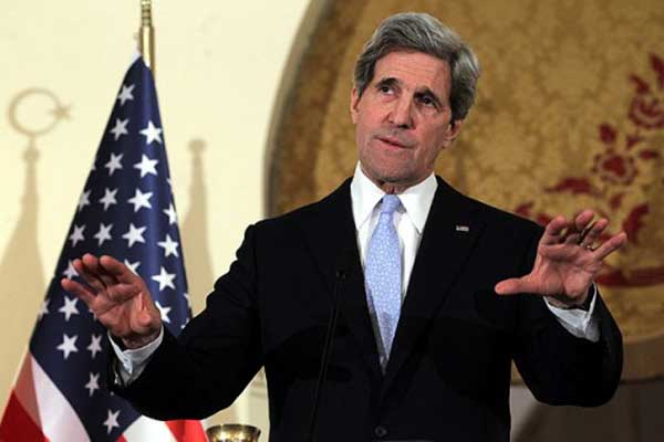 John Kerry begins his UN talks in New York