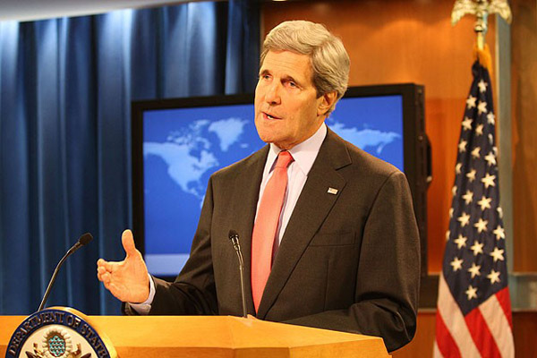 John Kerry says Syria peace conference should be held soon