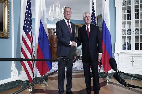 Syria problem US Russian top diplomats discus in New York