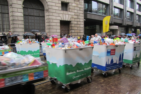 London behind other UK cities on recycling