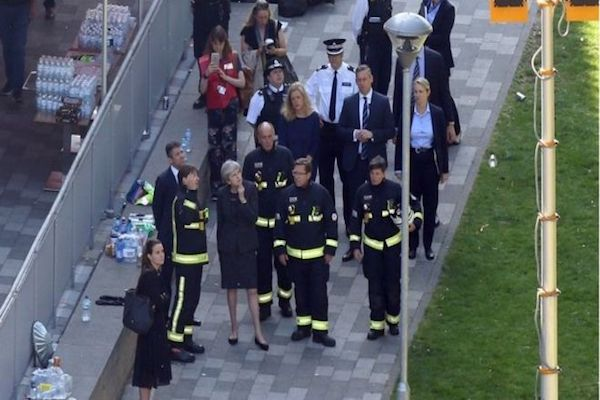 Rescuers say no more survivors from London fire