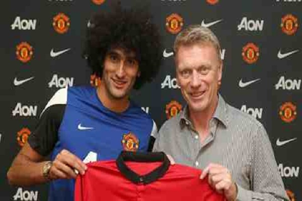 Manchester United confirm Fellaini signing