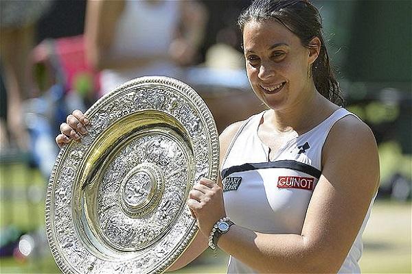 Marion Bartoli won her first Wimbledon title