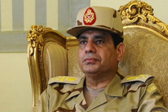Egyptian army meets political representatives