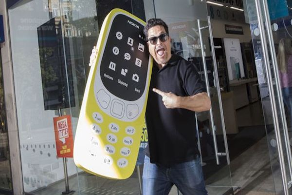 Nokia 3310 goes on sale again after 17 years