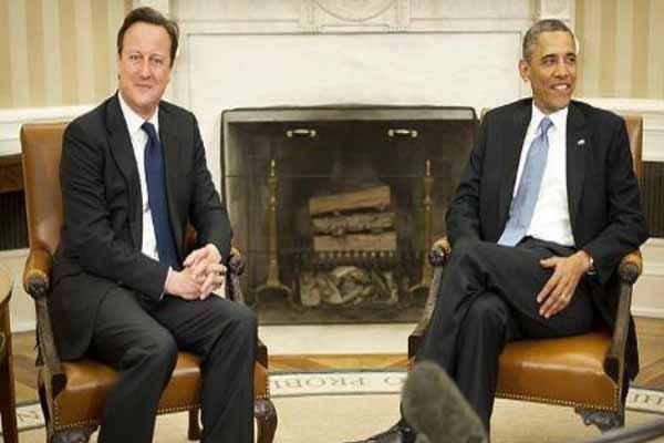 Obama and Cameron discuss Syria