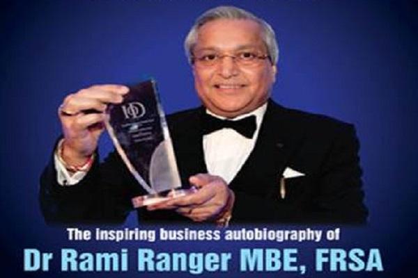 Award-winning entrepreneur Rami Ranger reveals his new book