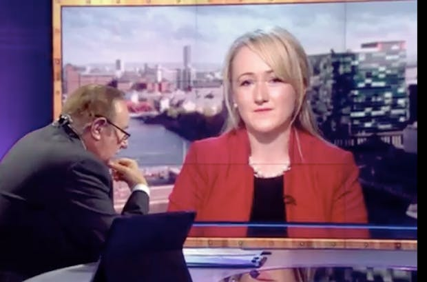 Conservative response to Rebecca Long-Bailey on BBC Sunday Politics