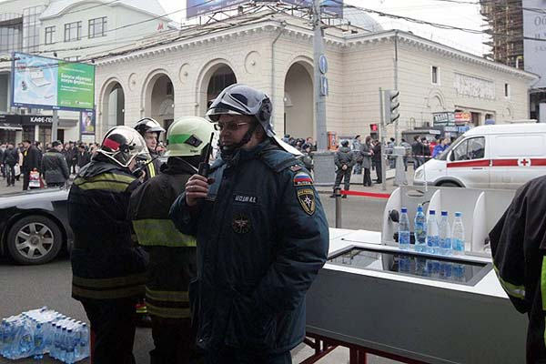 Suicide bomber strikes Russian train station