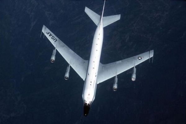 Russian jet flies 5ft from US spy plane over Baltic Sea