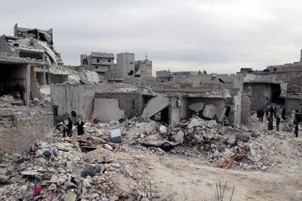 Syrian fighter jet bombs Lebanese soil