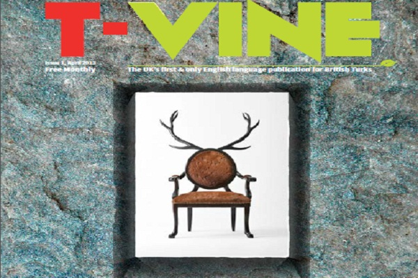 British Turks get their first English language magazine T VINE