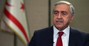 President of Cyprus Akıncı says,...