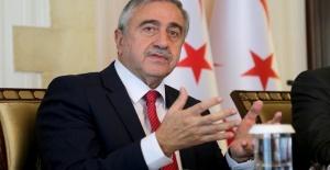 President of TRNC Mustafa Akıncı...