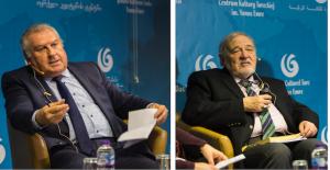 Prof. Ilber Ortayli and Prof. Vahdettin...