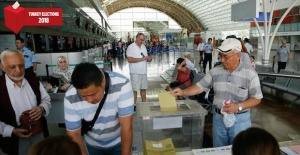 Turks abroad begin voting in elections