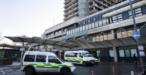 UK: 'Unknown substance' puts 2 in hospital
