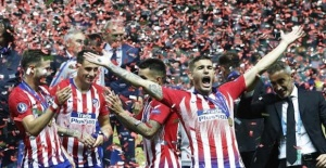 Football: Atletico Madrid wins UEFA Super Cup